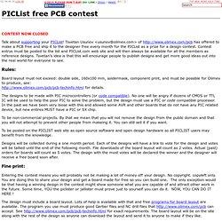free PCB contest