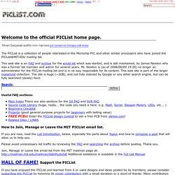 PIClist, Microchip PIC