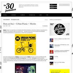 Ruta en bici + Urban Picnic + Moritz