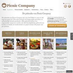 Onze Picknick Menu's - PicnicCompany Amsterdam