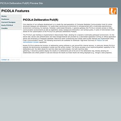 PICOLA Features
