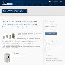 PicoVACQ Température capteurs platine