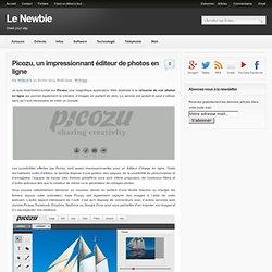 Picozu, un impressionnant éditeur de photos en ligne