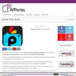 PICSART, un completo editor de fotos para tu iPhone y iPad