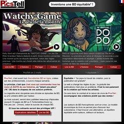 PicsTell, BD numérique équitable - webcomic gratuit
