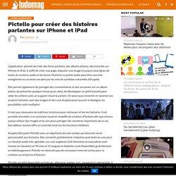Pictello pour créer des histoires parlantes sur iPhone et iPad