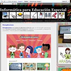 Informática para Educación Especial: Pictoaplicaciones