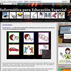 Informática para Educación Especial: PictoDroid Lite