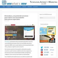 Pictoeduca, un portal de recursos para niños con necesidades educativas especiales