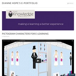 Pictogram Characters for e-Learning – Dianne Hope's e-Portfolio