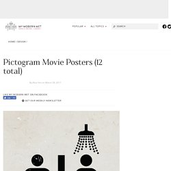 Pictogram Movie Posters (12 total)