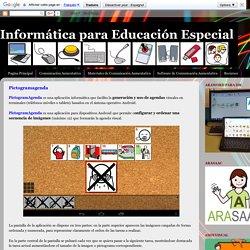 Informática para Educación Especial: Pictogramagenda
