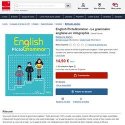 English PictoGrammar - La grammaire anglaise en... de Rebecca Dahm
