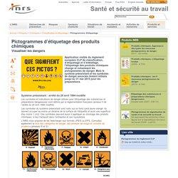 Pictogrammes d'étiquetage des produits chimiques