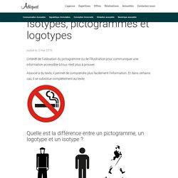 Isotypes, pictogrammes et logotypes - Agence Adéquat