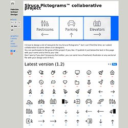 Siruca Pictograms™, the first Open Source project of Fabrizio Schiavi