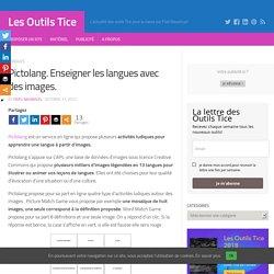 Pictolang. Enseigner les langues avec des images.