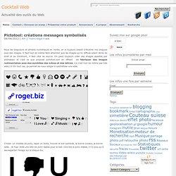 Pictotool: créations messages symbolisés
