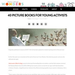 40 Picture Books for Young Activists – All The Wonders