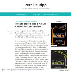 Picture Books Read Aloud Videos for Lesson Use