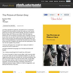 The Picture of Dorian Gray - Download Free eBook