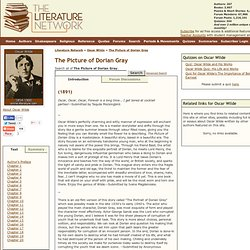 The Picture of Dorian Gray by Oscar Wilde. Search eText, Read Online, Study, Discuss.
