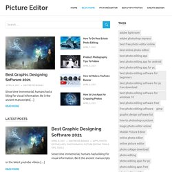 Picture Editor – Design Your own Canvas