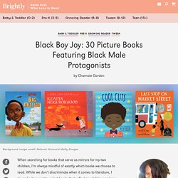30 Picture Books Featuring Black Male Protagonists