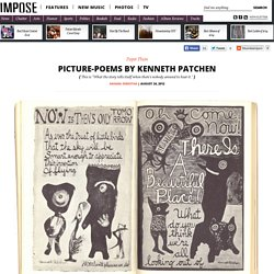 Picture-Poems By Kenneth Patchen