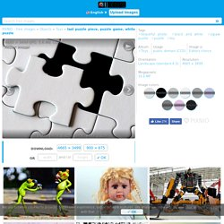 Free picture: last puzzle piece, puzzle game, white puzzle