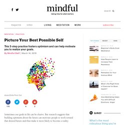 Picture Your Best Possible Self