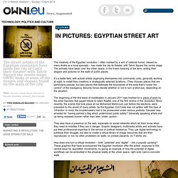 In Pictures: Egyptian Street Art