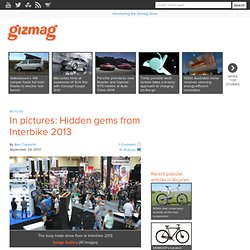 In pictures: Hidden gems from Interbike 2013 - Images