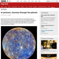 In pictures: Journey through the planets