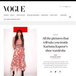 Karisma Kapoor's Shoe Wardrobe at Vogue India