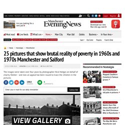 25 pictures that show brutal reality of poverty in 1960s and 1970s Manchester and Salford