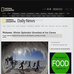 Winter Splendor Unveiled at Ice Caves