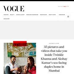 Akshay Kumar and Twinkle Khanna's Mumbai House Pictures - Vogue India