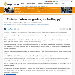 In Pictures: 'When we garden, we feel happy'