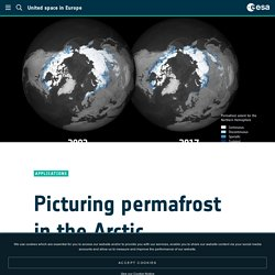 Picturing permafrost in the Arctic