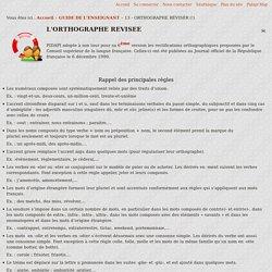 pidapi-asso.fr - 13 - ORTHOGRAPHE RÉVISÉR (!)