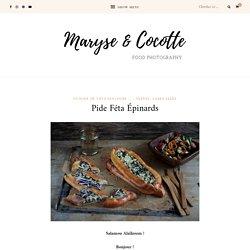 Pide Féta Épinards – Maryse & Cocotte