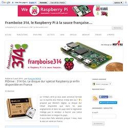 PiDrive : 314 Go. Le disque dur spécial Raspberry pi enfin disponible en France