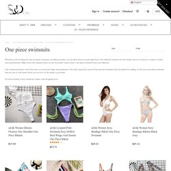 Cute One Piece Swimsuits for Women Online