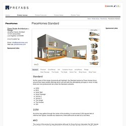 PieceHomes Standard Series