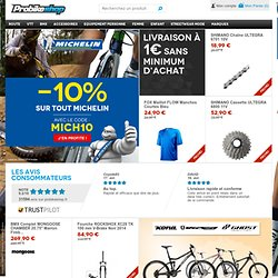 Pièces Vélo VTT Course, Vente en Ligne, Shimano