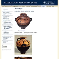 Greek vases 800-300 BC: key pieces - The Classical Art Research Centre