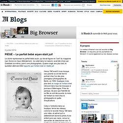 PIÈGÉ – Le parfait bébé aryen était juif