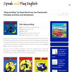 Meg and Mog by Helen Nicoll et Jan Pienkowski: Printable Activities and Worksheets