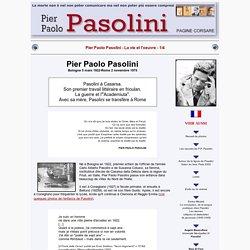Pier Paolo Pasolini - Page en Français - 1